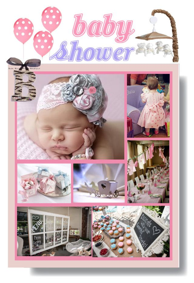 Baby Shower by betiboop8 on Polyvore featuring interior, interiors, interior design, home, home decor, interior decorating, Bananafish, WALL and babyshower