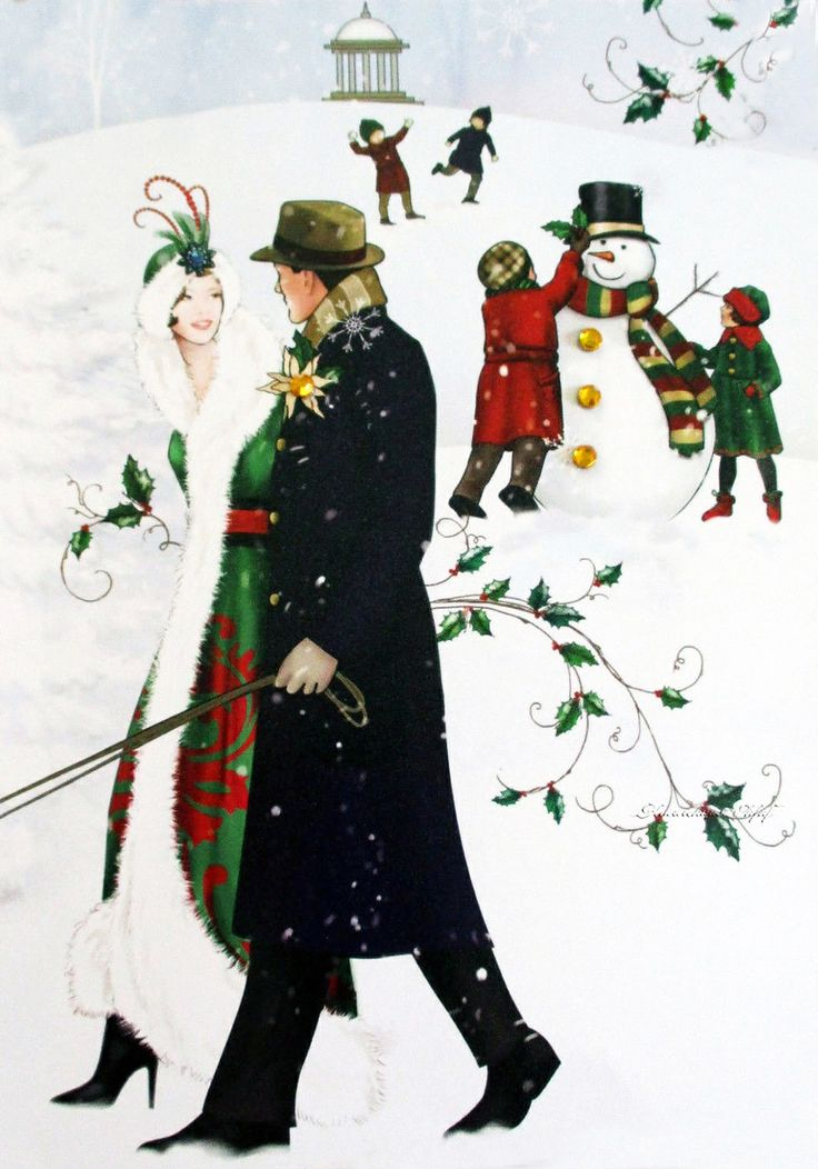 Мобильный LiveInternet Рождественские каникулы... Claire Coxon   lira_lara - Надежды маленький оркестрик под управлением любви  