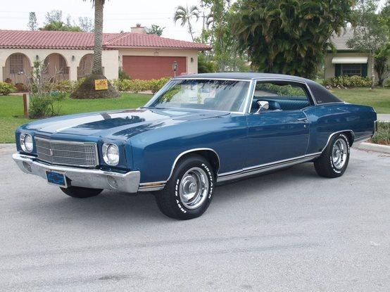 1970 Chevy Monte Carlo