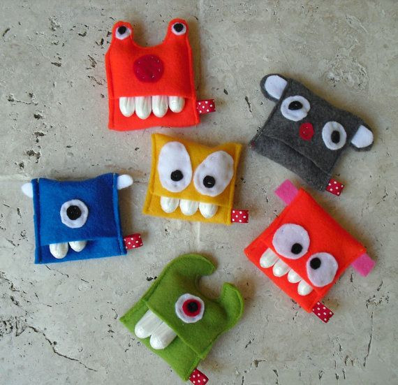 this listing is for a small or medium sized handmade monster headphone pouches…