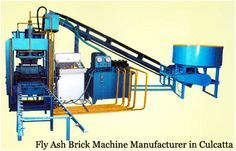 Who are the top for Fly ash brick machine manufacturer in Calcutta - Fly Ash Brick Plants and Machine, Concrete Block Machine