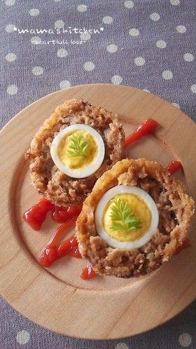 お弁当に♪ウズラの卵のミニスコッチエッグ
