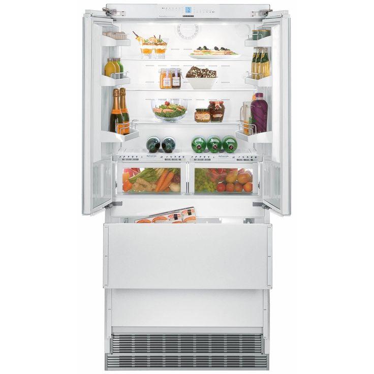 Liebherr Integrated Biofresh Four Door Fridge Freezer ECBN6256