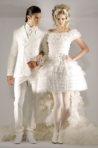 Sparkling Youthful of Chanel Wedding Dresses 2012 from Wedding Planner