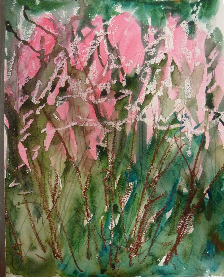 Sirkkaliisa Virtanen: Summerday, Watercolor