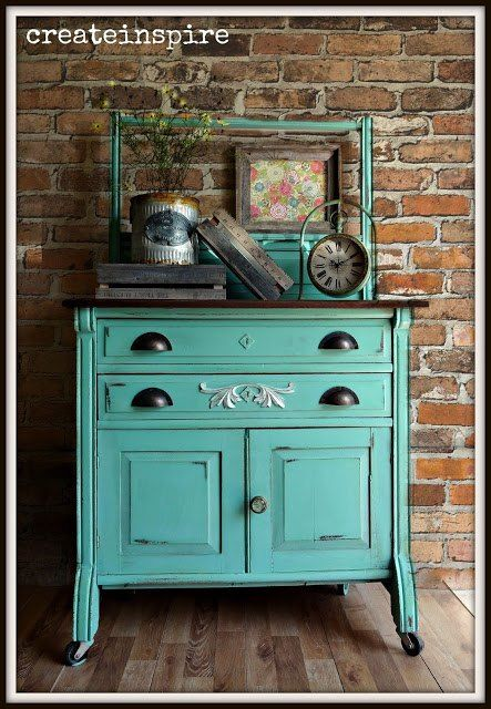 Antique Wash Stand | Furniture Upcycling | Antique wash ...