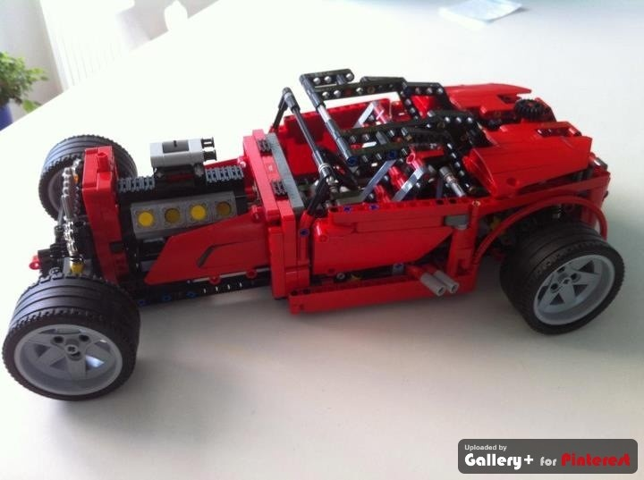 Lego Technic 8070, super car (version 2)
