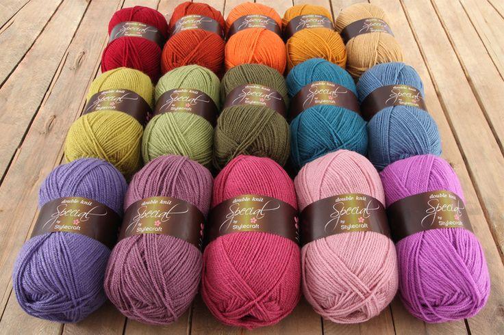 Attic24 Cosy Stylecraft Special DK (15 Shades) - Attic 24 Shop - Wool Warehouse - Buy Yarn, Wool, Needles & Other Knitting Supplies Online!