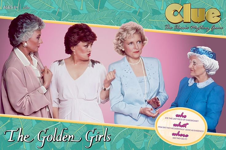 A Golden Girls Version of Clue Is Coming Out & I Am Here for It