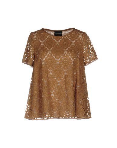ATOS LOMBARDINI Women's Blouse Khaki 10 US