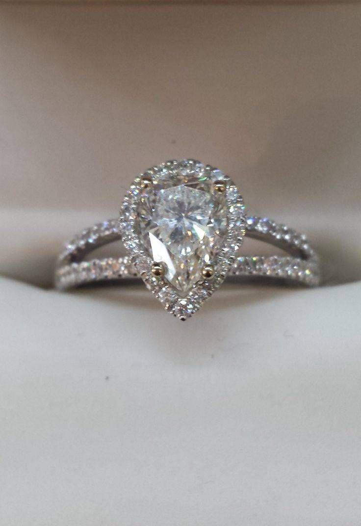 15 Ideen Von Pear Shaped Verlobungsringe Diamant Einstellungen