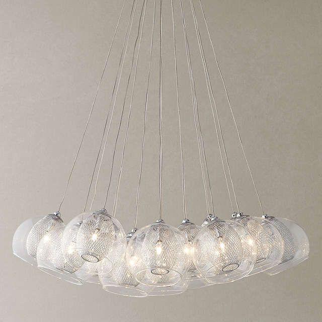 BuyJohn Lewis Knightley Mesh Parachute Cluster Ceiling Light Online at johnlewis.com