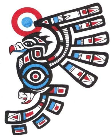 Image detail for -Salmon Haida Tattoo Design Tattoo