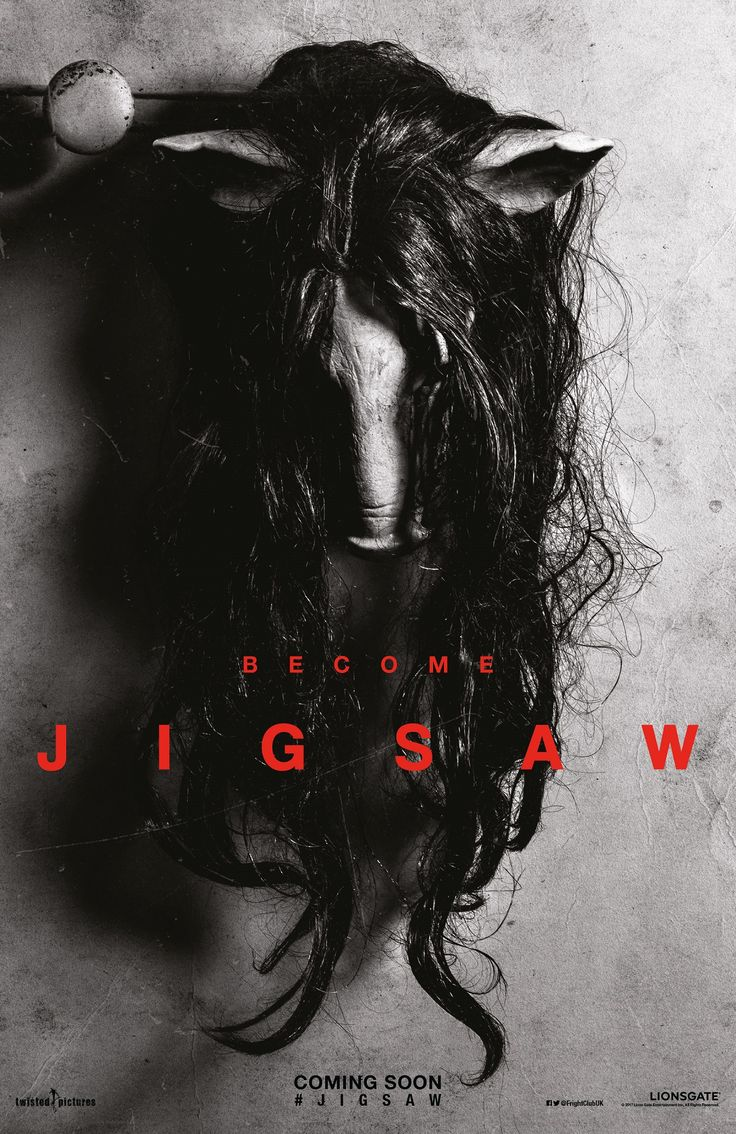 Become Jigsaw in the poster for the latest film in the Saw series   Live for Films