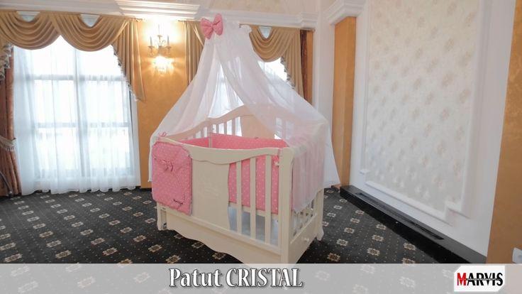 Patut bebe Cristal Pentru Marvis, producătorul de pătuțuri din lemn masiv de fag, calitatea și siguranța sunt pe primul loc!  www.patuturi.ro