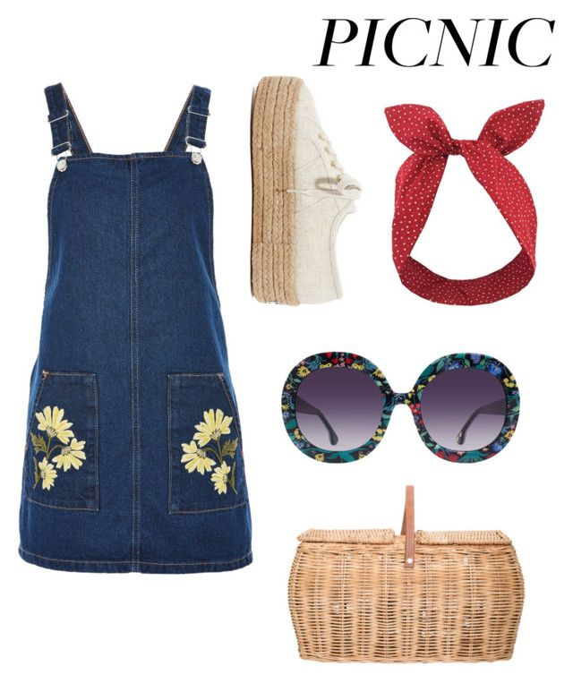 """picnic"" by geopaganeli on Polyvore featuring Topshop, Bloomingville, Superga, Lulu in the Sky and Alice + Olivia"