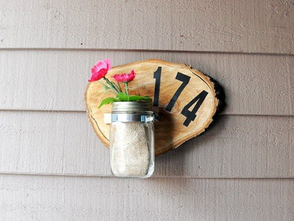 Оформляем табличку с номером для своего дома (15 фото)