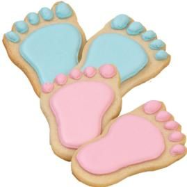 baby steps cookies: Shower Ideas, Cookies Decor, Baby Feet, Baby Steps, Step Cookies, Cookies Baby, Parties Ideas, Baby Shower Cookies, Baby Shower