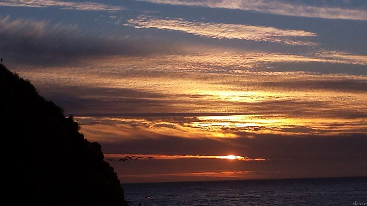 sunset costa brava