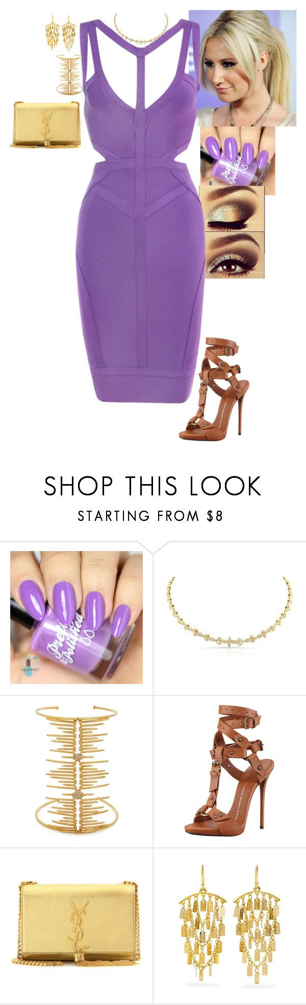 """Weak Ankles - Cocktails by Cody"" by stinze on Polyvore featuring Joanna Laura Constantine, Giuseppe Zanotti, Yves Saint Laurent and Coach"