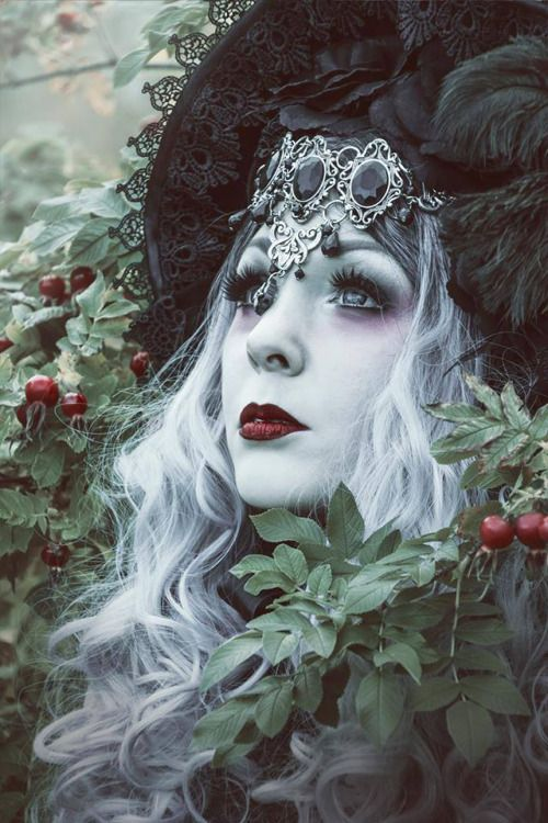 "gothicandamazing: "" Model: Shadow Photo: Enni K Welcome to Gothic and Amazing |www.gothicandamazing.com """