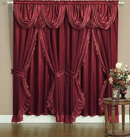 17 Best Ideas About Burgundy Curtains On Pinterest White