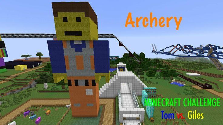 Minecraft Challenge - Archery