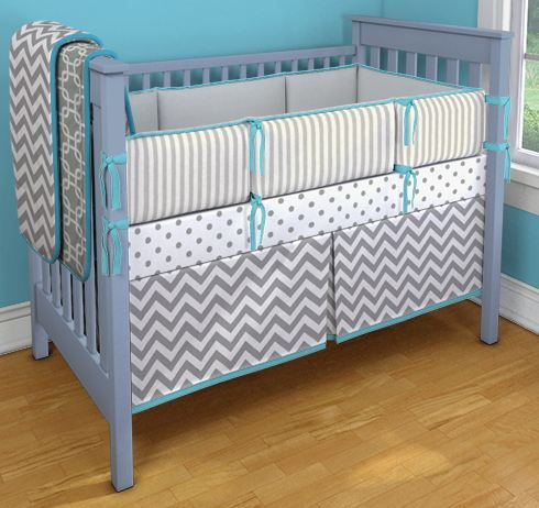 crib bedding idea from carousel designs @Victoria Brown Sullivan  This sort of thing... This one uses 2 yards.
