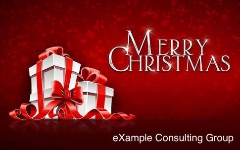 Best wishes and Greetings for a Merry Christmas and Happy Holidays from eXampleCG!!