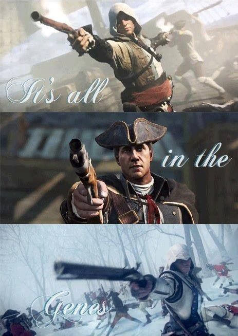Assassin's Creed - Three generations