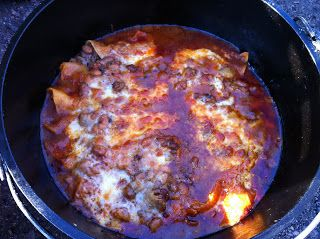 Derek on Cast Iron - Cast Iron Recipes: Article: Campfire Cooking with a Dutch Oven