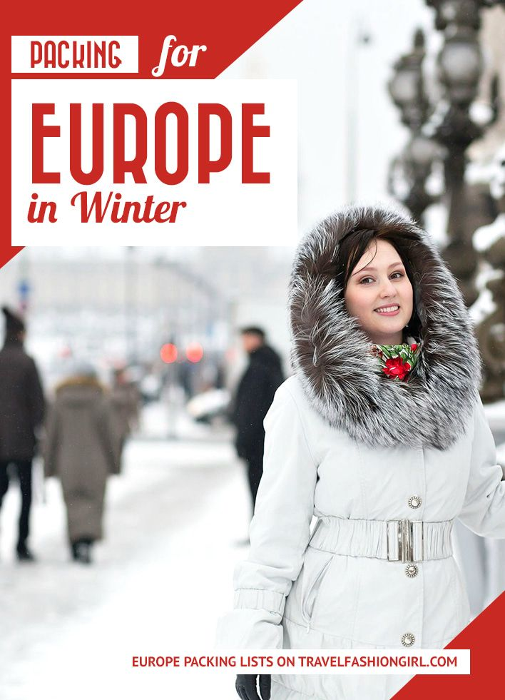 Traveling to Europe in the cold winter season? We have the ultimate Europe winter packing guide for you, with fashion tips and travel tricks for a variety of countries throughout the continent. Bookmark this post as we'll be adding more destinations and updates! via @travlfashngirl https://www.travelfashiongirl.com/europe-in-winter/