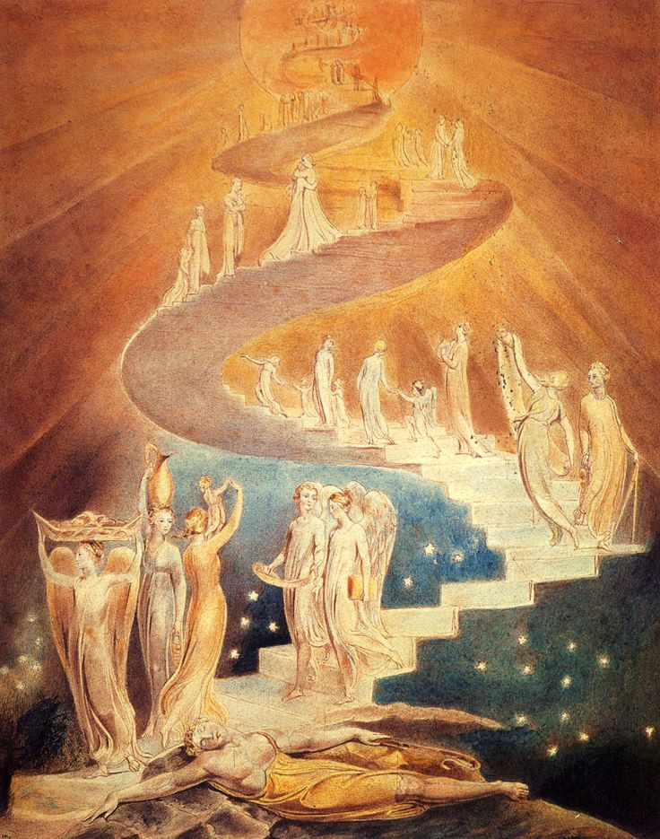 Illustration to Dante's Divine Comedy - William Blake - WikiArt.org