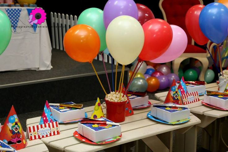Kiddies Party Table