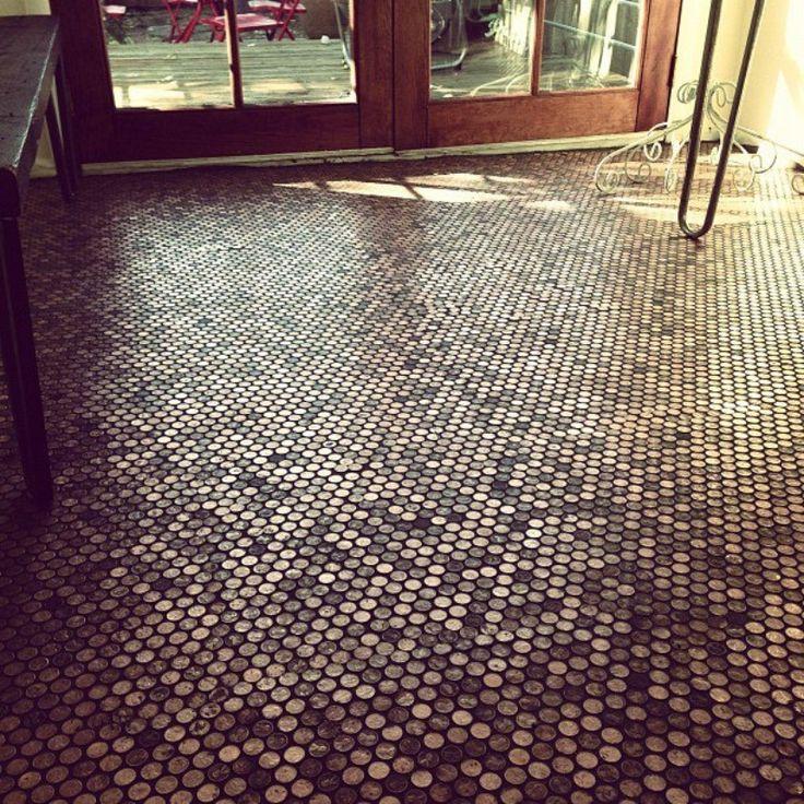 Copper Penny Tile Jig