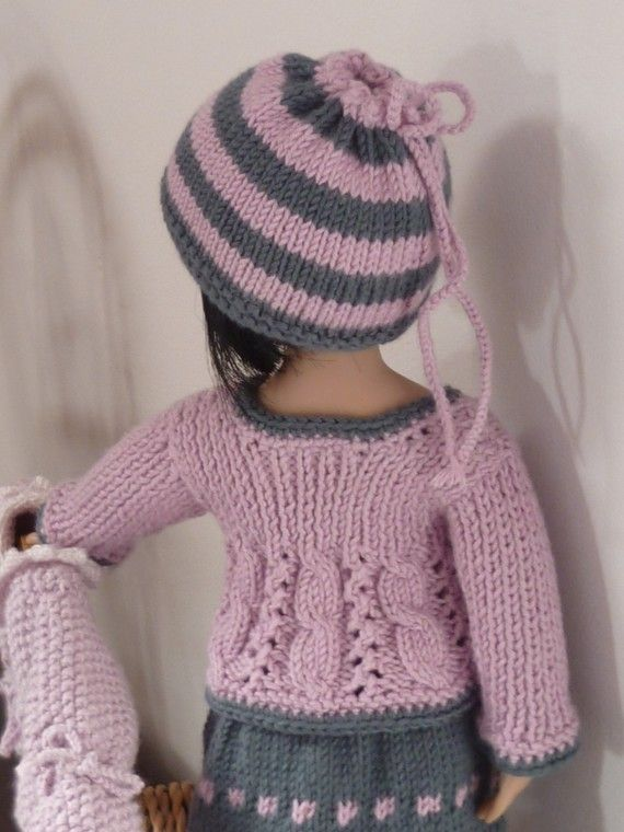 French Knitting Patterns : 17 Best images about For Les Cheries on Pinterest Doll dresses, Ravelry and...