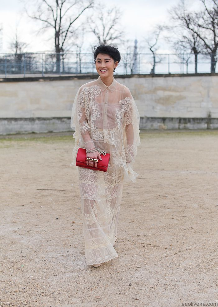 Valentino Princess, Jardin des Tuileries, Paris. Photograph by LEE OLIVEIRA. Stunning.