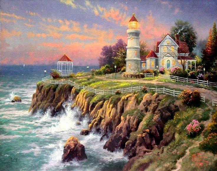 """""""Victorian Light,"""" Thomas Kinkade Art"""