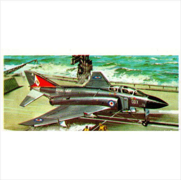 Brooke Bond Tea Cards History of Aviation card no.39 McDonald Douglas F4 Phantom Listing in the Brooke Bond & PG Tips,Tea & Coffee,Tea, Coffee & Confectionery,Trading Cards & CCGs,Collectables Category on eBid United Kingdom