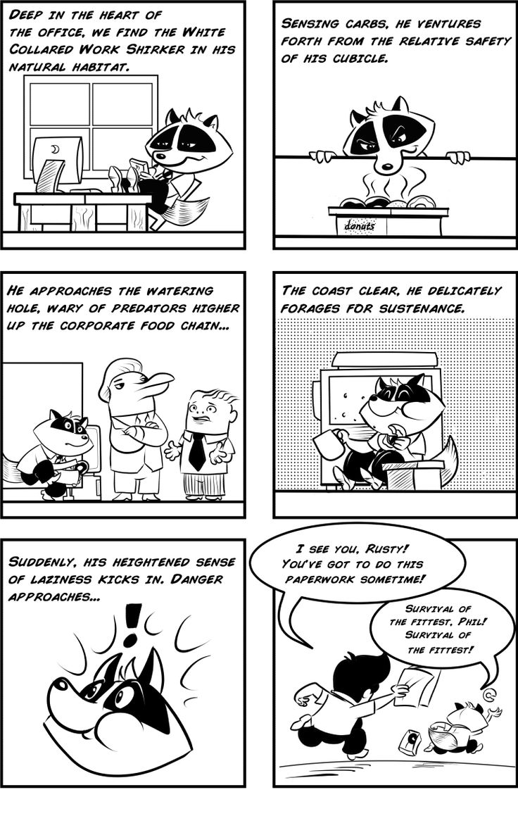 It's survival of the fittest, fastest and laziest in today's HUMAN/NATURE webcomic.