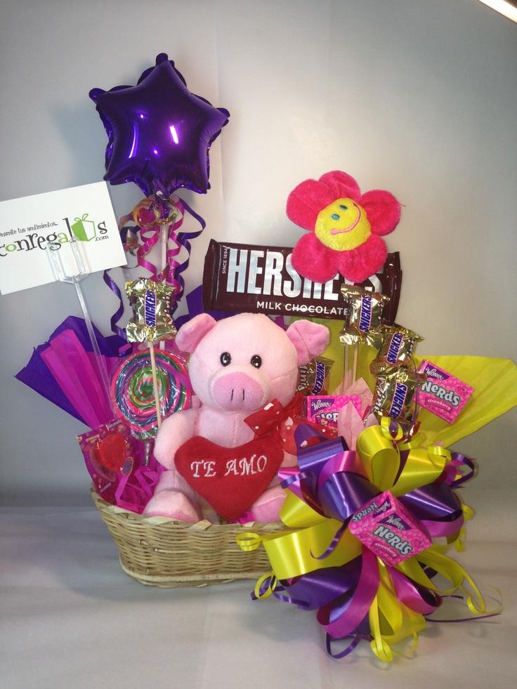 #cesta#dulces#chocolates