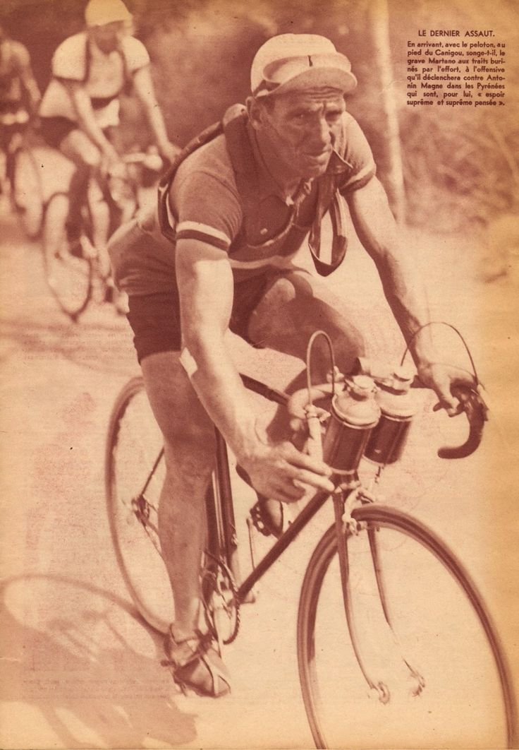 Tour de France 1934. Giuseppe Martano (1910-1994)