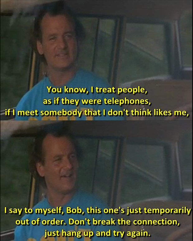 Movies Lines Quotes: What About Bob? - 1991