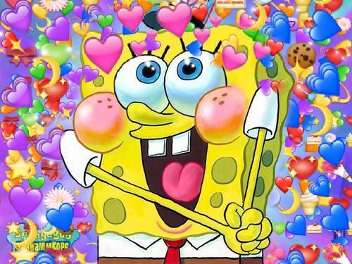 Uploaded By A Find Images And Videos About Spongebob On We Heart It The App To Get Lost In What You Love Cute Love Memes Cute Wallpapers Spongebob