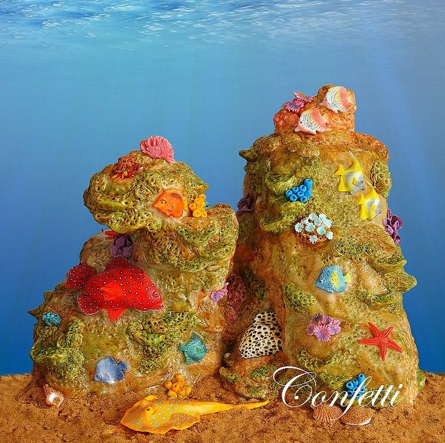 Cake Arts Jeddah : Under Water and Beach Cakes: a collection of ideas to try ...