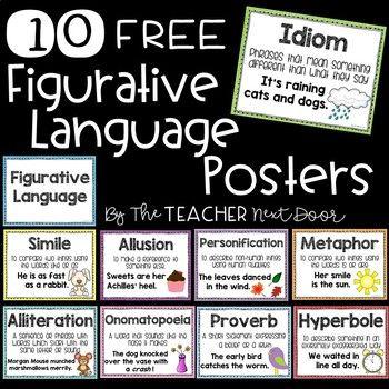 Free Figurative Language Posters