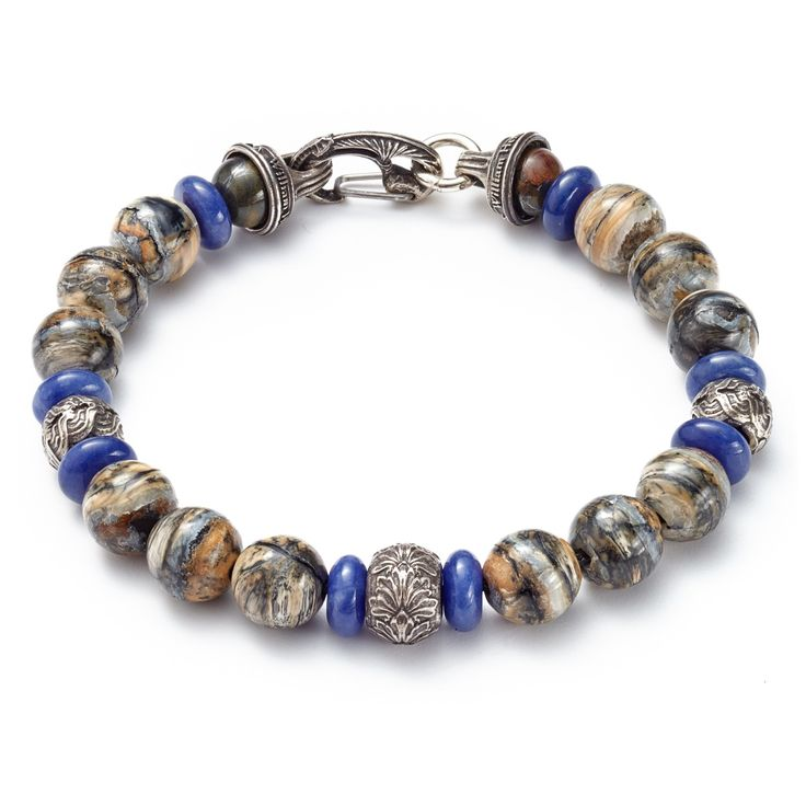 William Henry Wooly Mammoth Beads Bracelet
