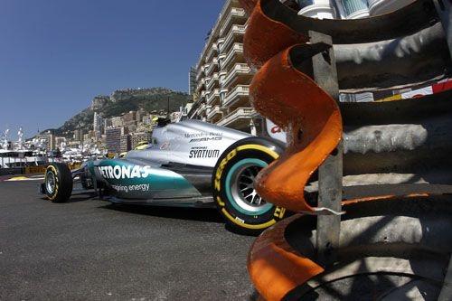 Großer Preis von Monaco  aus der Sicht von Mercedes AMG Petronas