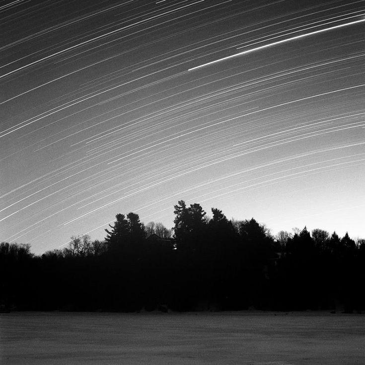 Star Trails On Film: Shooting Long Exposure Star Trail