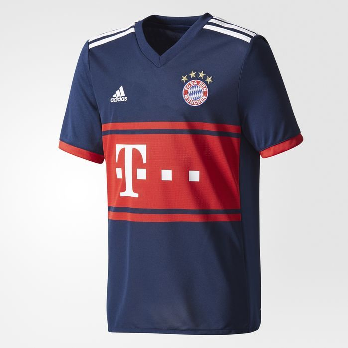 adidas FC Bayern Munich Away Replica Jersey - Kids Soccer Jerseys